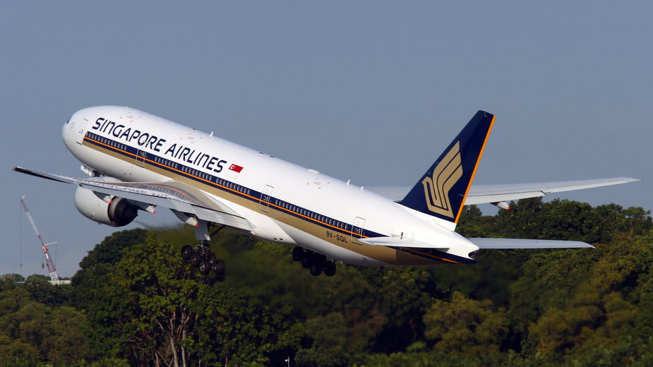 Boeing 777-200, Singapore Airlines