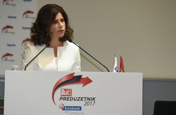 Slavica Pavlović, predsednica IO Eurobanke