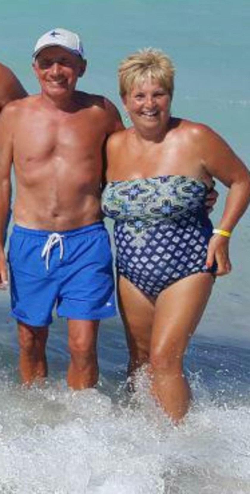 Sue Brewer i jej mąż Keith
