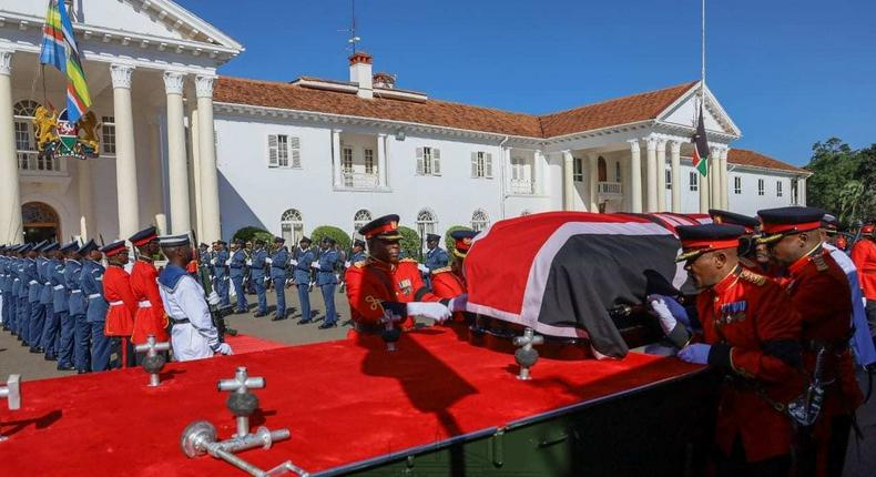 List of Presidents attending Moi's Memorial Service at Nyayo Stadium