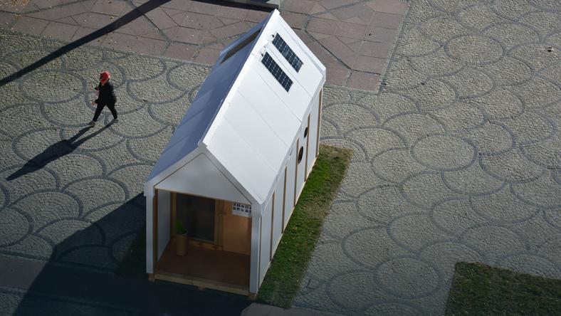 """Dom """"House of cards"""", fot. archi-tektura.eu"""