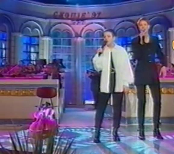 Tijana i Tamara 1997. godine