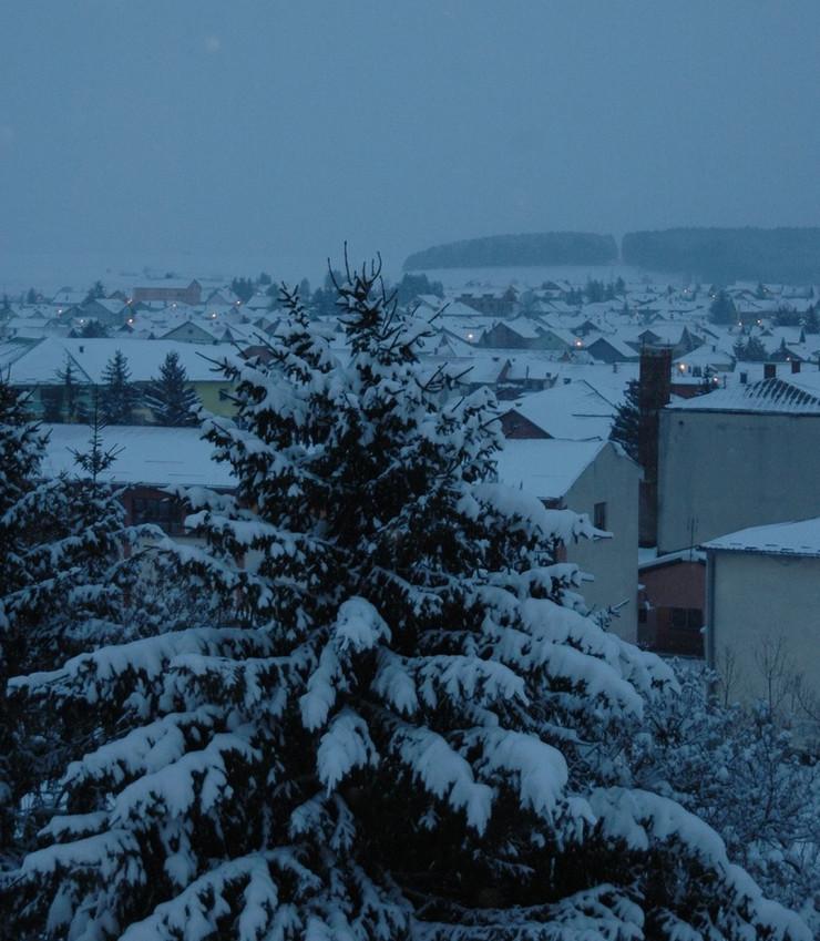 SJENICA01 Najhladniji dan u Sjenici ove zime foto N.  Koccovich