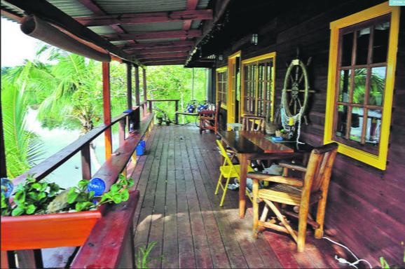 Luksuz: Kuća je u potpunosti opremljena strujom i pijaćom vodom