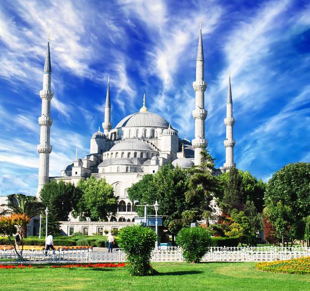 Błękitny Meczet w Istambule