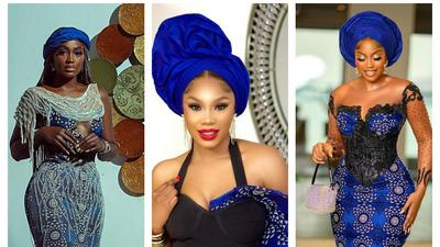 Some notable fashion at the funeral of Tiwa Savage's dad