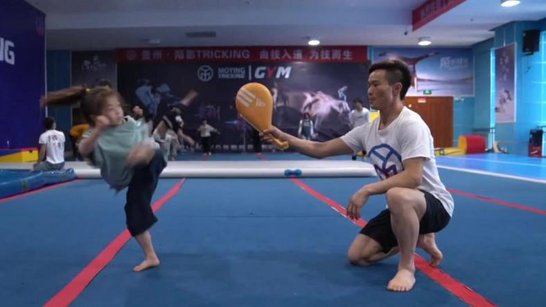 Siedmiolatka i kung fu