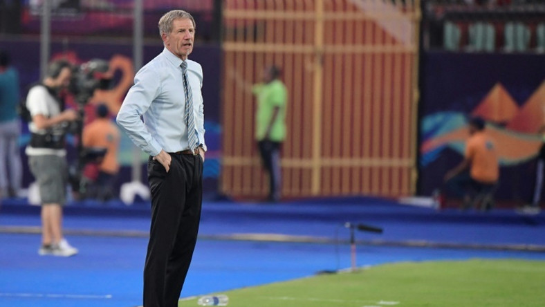 Stuart Baxter's South Africa beat Nigeria away in qualifying for the Africa Cup of Nations