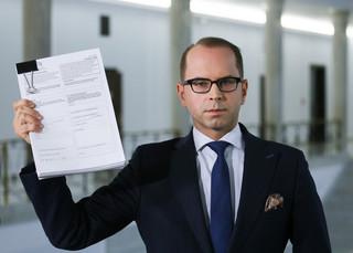 Szczerba złożył skargę do ETPC ws. wykluczenia go z obrad Sejmu 16 grudnia