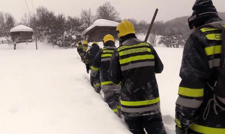 spasioci sneg