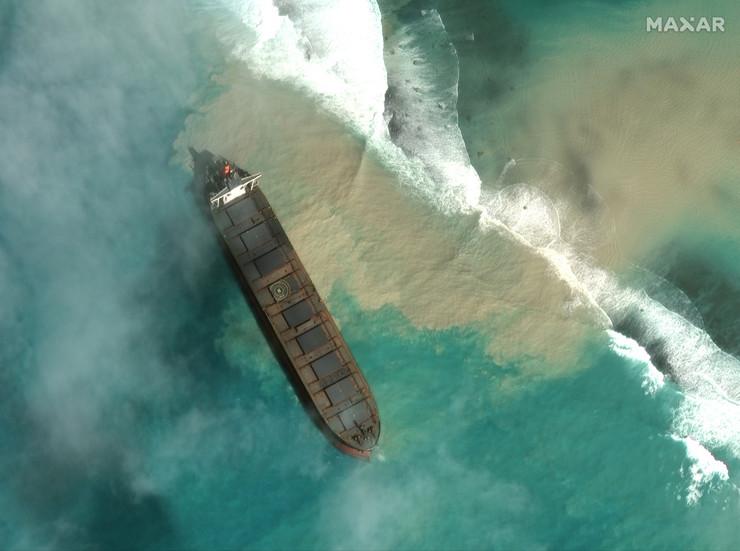 Mauricijus nafta tanker