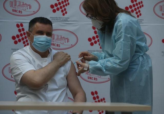 Vlado Đajić Direktor UKC RS Vakcina Sputnjik V