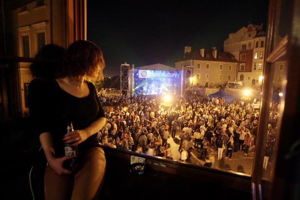 Noc kultury w Lublinie. Zdjęcie ilustracyjne z imprezy w 2013 roku