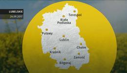Prognoza pogody dla woj. lubelskiego - 24.09
