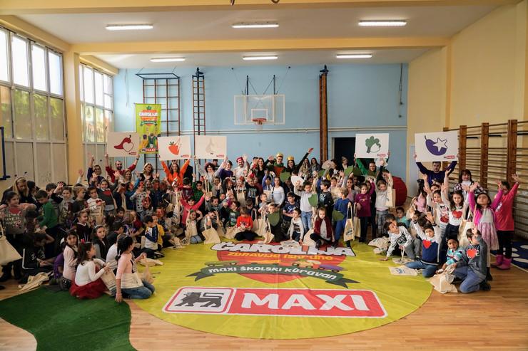 Maksi skolski karavan u Osnovnoj skoli Marija Bursac
