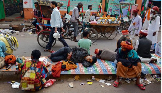 Chandni Chowk – jeden z najstarszych i najbardziej zatłoczonych rynków w północnym Delhi