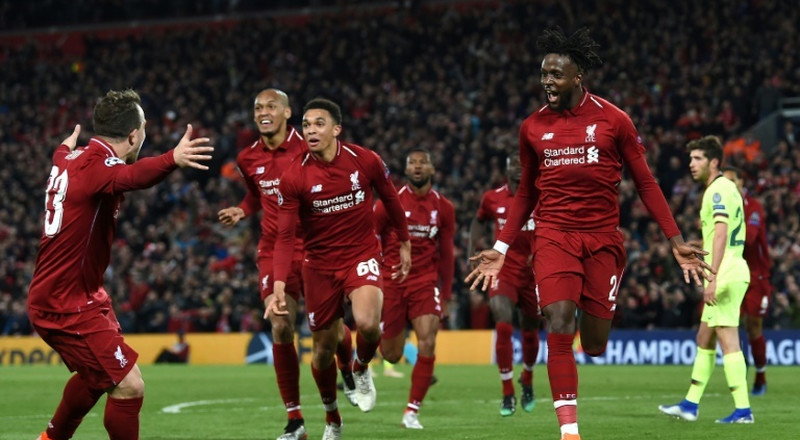 Champions League: Twitter in disbelief as Liverpool thrash Barcelona in stunning comeback