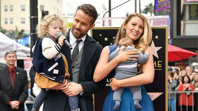 Ryan Reynolds odsłania swoją gwiazdę na Alei Sławy
