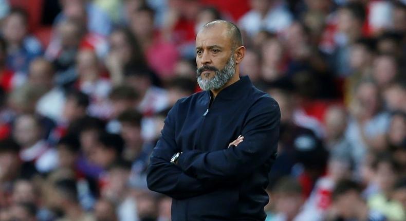 Nuno Espirito Santo's Tottenham have lost their last three league matches Creator: Ian KINGTON