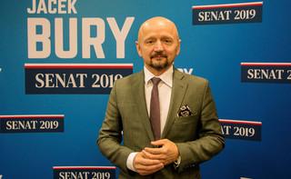 Senator Bury: Wystąpię do MSWiA o materiały z manifestacji przedsiębiorców w Warszawie
