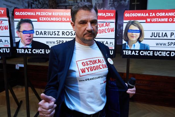 """""""Solidarność"""" sprawdza polityków. Kampania społeczna przed wyborami"""