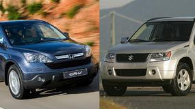 Porównanie: Suzuki Grand Vitara II vs Honda CR-V III - trwałe i rodzinne!