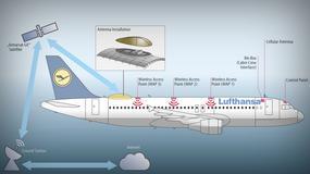 Internet w samolotach Lufthansy na krótkich i średnich trasach