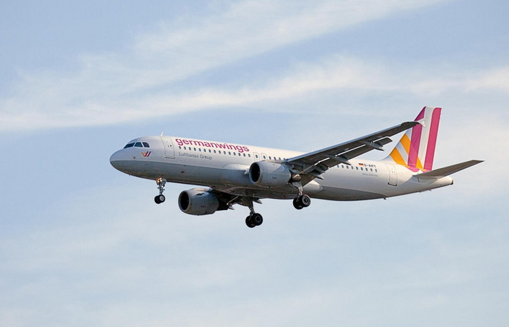 "Erbas A320 kompanije ""Germanwings"""