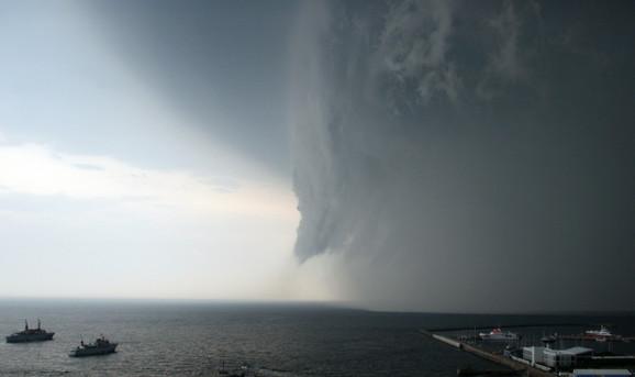 Nevreme na ostrvu Helgoland u Severnom moru