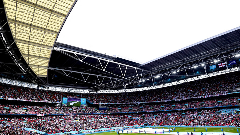 Trybuny stadionu Wembley