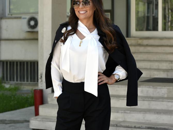 Elegantno odelo može da izgleda TAKO MOĆNO: Pogledajte Cecu i za tren ćete se uveriti u to