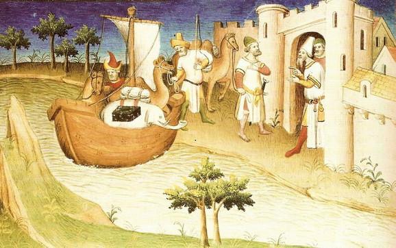 Putovanja Marka Pola - minijatura iz