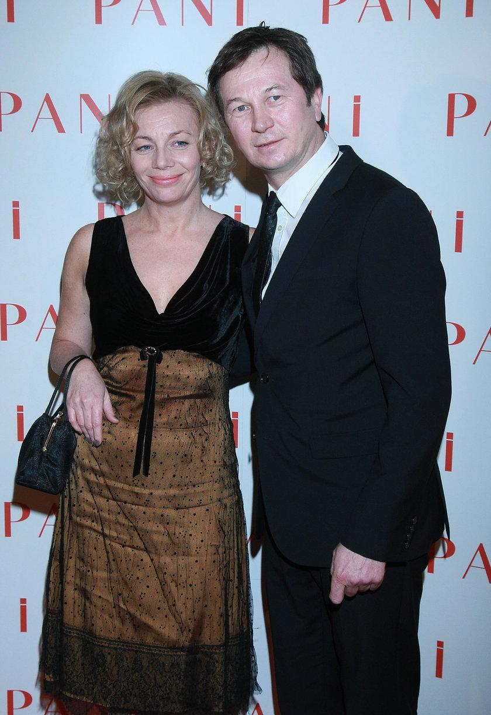 Piotr Cyrwus i Maja Berełkowska