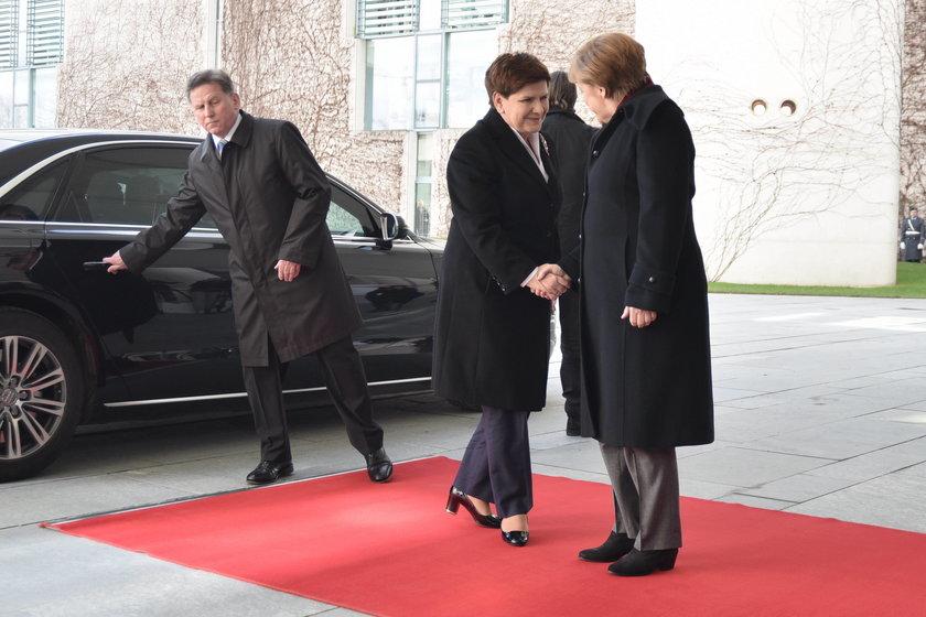 Merkel i Szydło zgodne: temat migracji to jedno z największych wyzwań dla UE