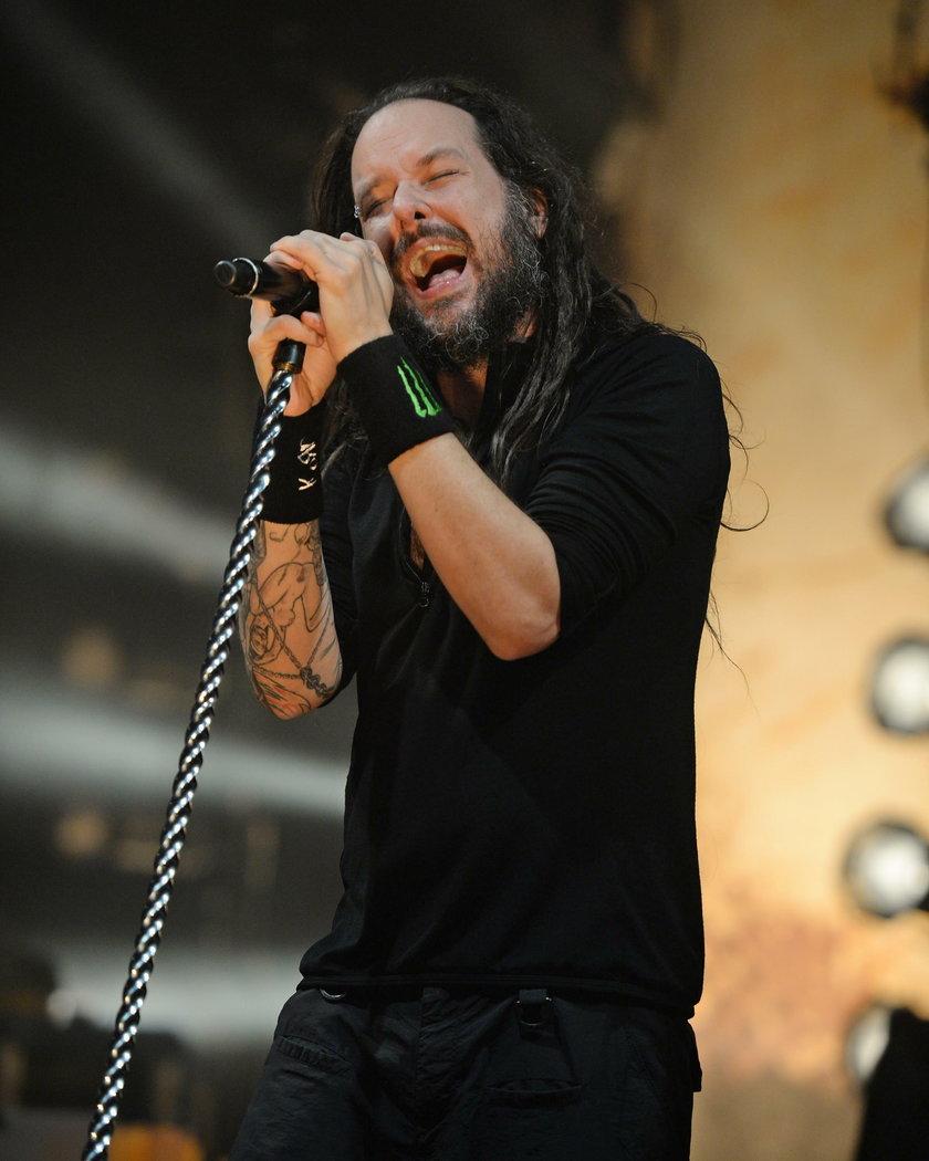 Jonathan Davis - wokalista grupy Korn
