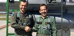 Ambasador USA latał polskim F-16