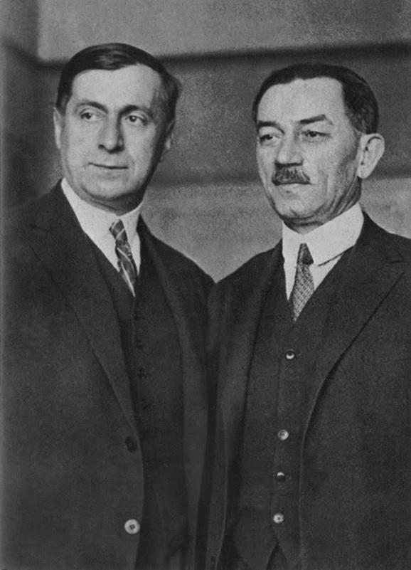 Milan Rakić i Jovan Dučić