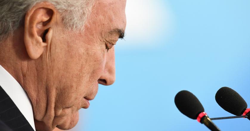 Michel Temer, prezydent Brazylii, został oskarżony o korupcję