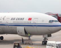 Air China były jednym z dwóch przewoźników latających do Pjongjangu