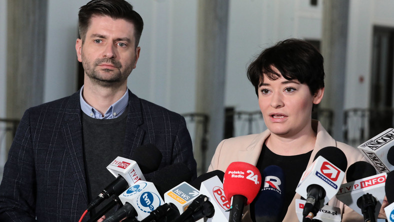 Krzysztof Śmiszek i Anna Maria Żukowska