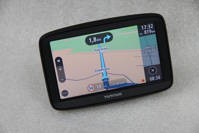 TomTom Start 52 potrafi symulować przejazd wybraną trasą