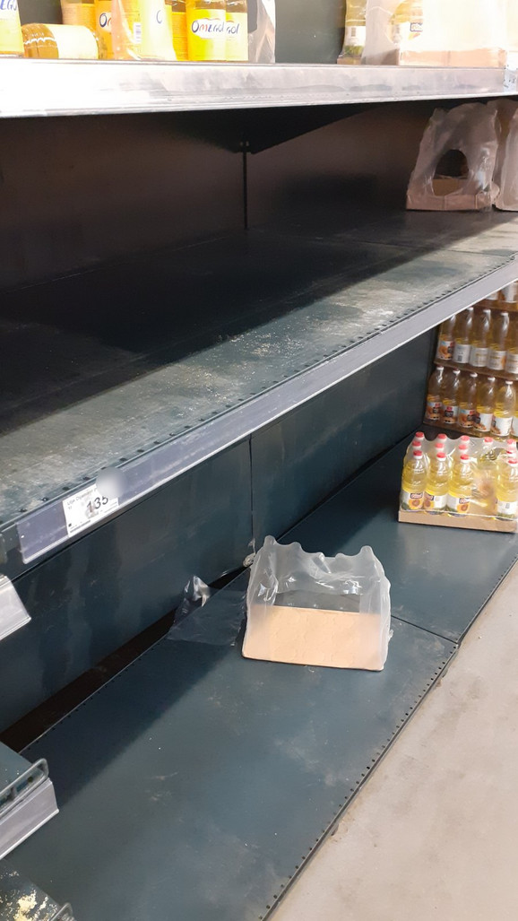 Neko je opustošio prodavnicu