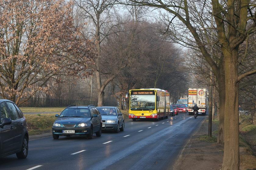 Ulica Strzegomska we Wrocławiu