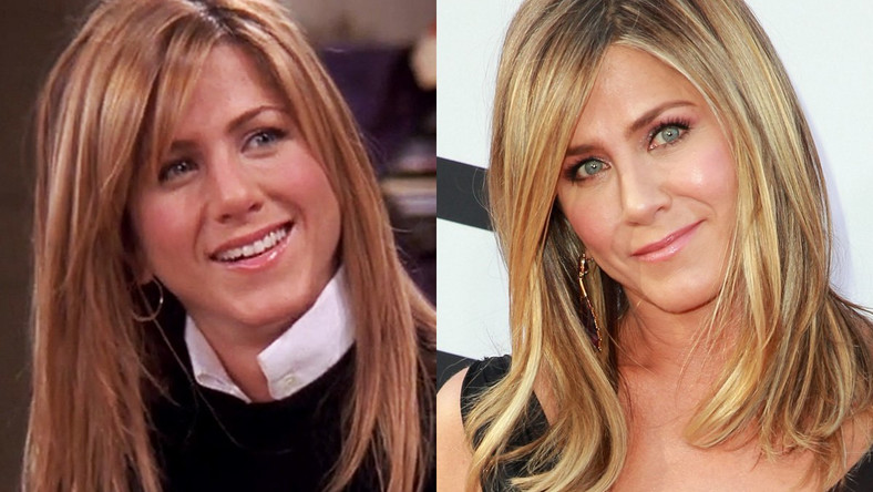 jennifer aniston then and now friends