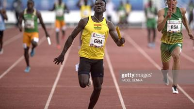 Ghanaian sprinter Joseph Paul Amoah reclaims record in USA