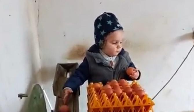 Dečak iz okoline Užica