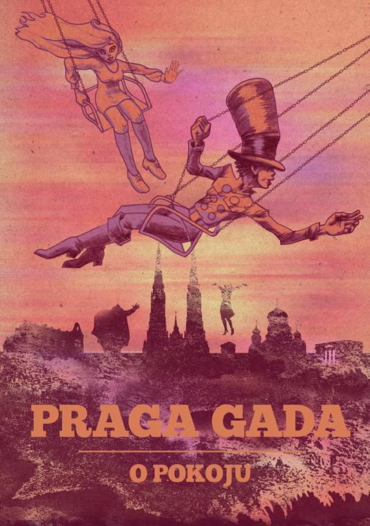 Praga Gada. O pokoju (okładka)