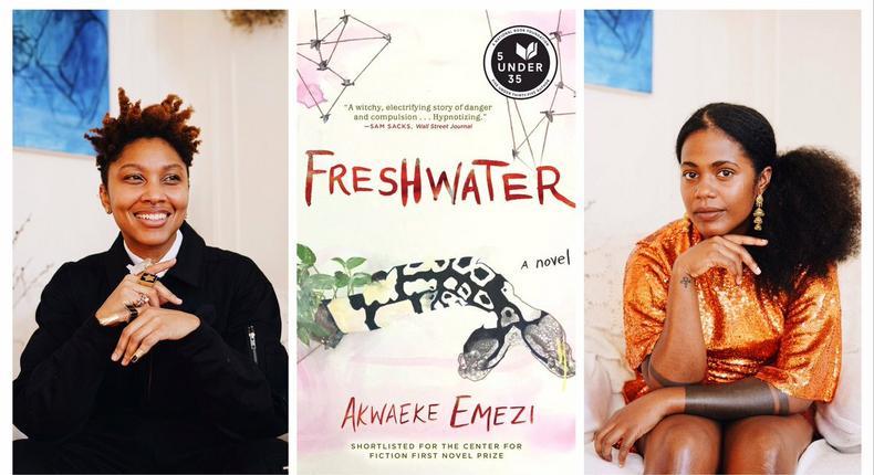 "Akwaeke Emezi is working with Tamara P. Carter on the film adaption of  ""Freshwater  (twitter/azemezi)"