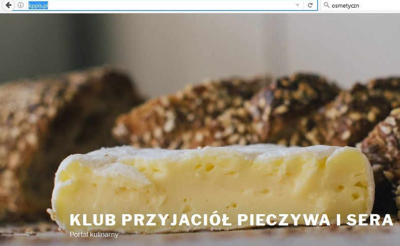 Przejęta strona klubu PiS