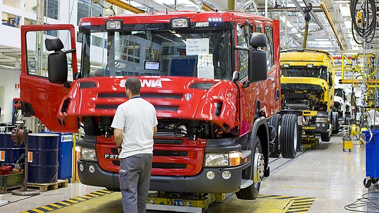 100 lat wozów strażackich Scania